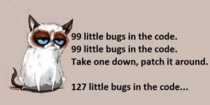 99 little bugs in the code.jpg